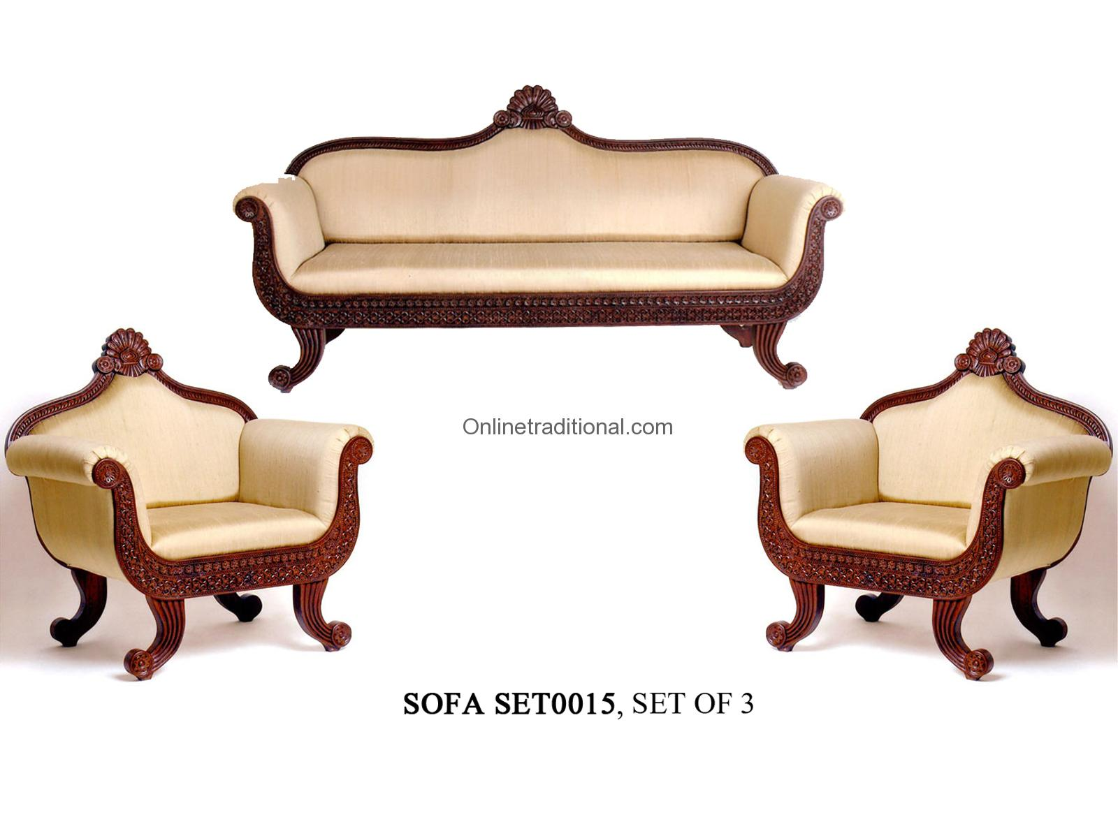 Indian Home Interior Designs Teak Wood Sofa Sets Traditional Amp Carving Sofa Sets