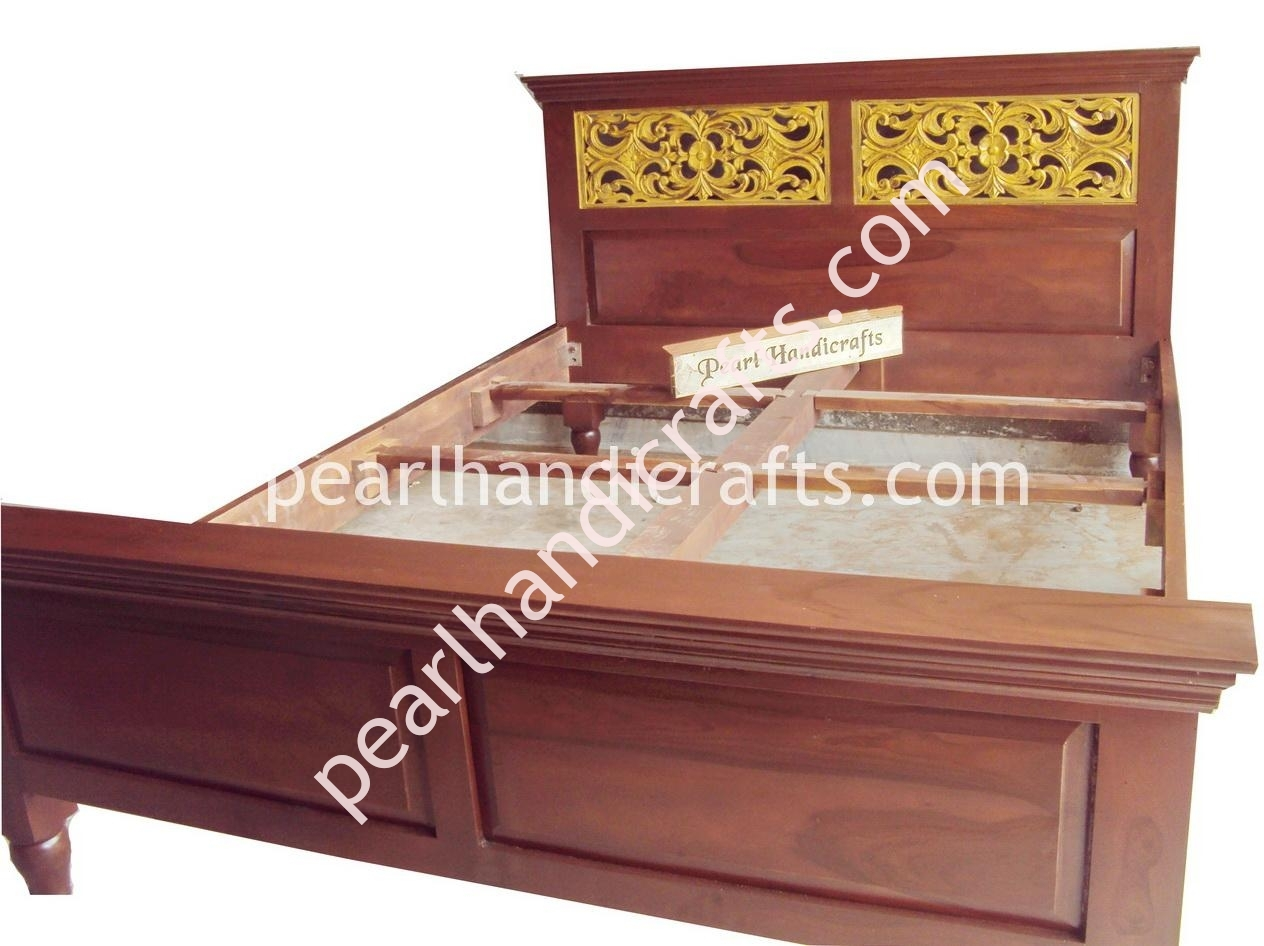 Indian wooden furniture bed - Indian Bed